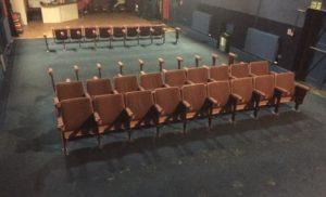Seats rem oved